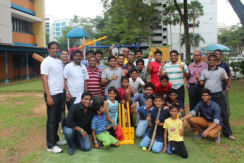 Children's Day cricket